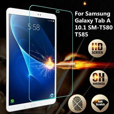 £3.59 • Buy Tempered Glass Unbranded Tab Protector For Samsung Galaxy Tab A 10.1 T580 2016