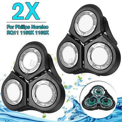 $ CDN25.57 • Buy 2x Replacement RQ11 Shaver Head For Philips For Norelco RQ1180 1160X 1150 L