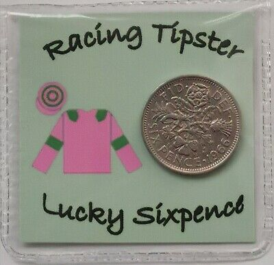 £2.59 • Buy A Racing Tipsters Lucky Sixpence Gift *Free 1st Class Post*