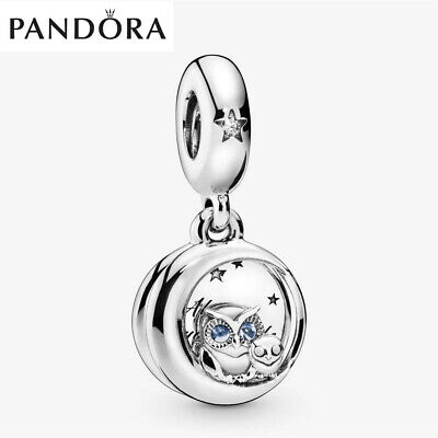 Genuine Silver Pandora Always By Your Side Owl Dangle Charm With Gift Box • 15.99£
