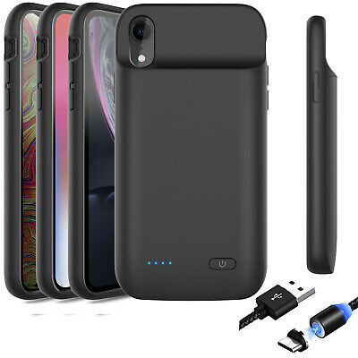 AU26.99 • Buy For IPhone 12/11 Pro Max Extended Battery Charger Case Power Bank Charging Soft