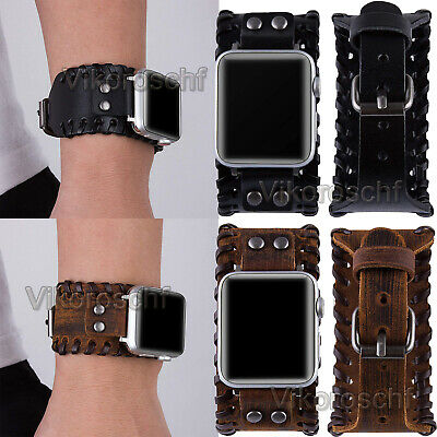 $ CDN15.58 • Buy Nordic Viking Cuff For Apple Watch Leather Band 40/44mm IWatch SE Series 6 5 4 3