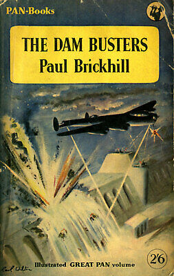 £4.99 • Buy THE DAM BUSTERS By Paul Brickhill - PAN-Books, 9th Printing (1954)