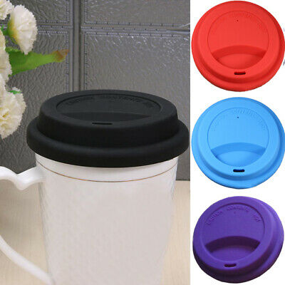 £1.99 • Buy Silicone Cup Cover For Glass Ceramic Coffee Mug Cup Currency Cover Seal Lid
