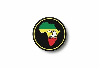 Patch Africa Embroidered Printed Thermoadhesive Rasta Reggae Rastafarian Judah • 3.55£