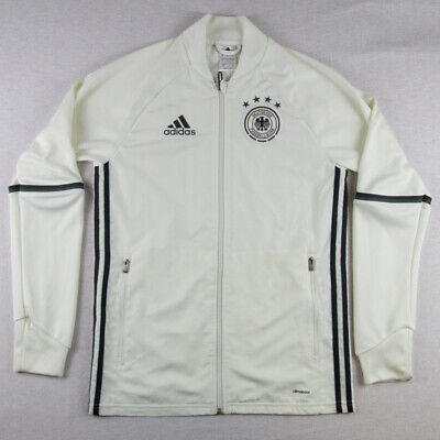 /// Adidas Germany Deutchland Jacket Track Top TT Tracksuit Retro Rare Anthem • 55£