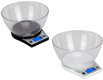 £9.99 • Buy Digital Kitchen Scale With Measuring Bowl 5kg Lcd Electronic Cooking Food Scale