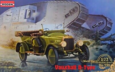 £13.99 • Buy Roden 735 1:72nd Scale Vauxhall D Type