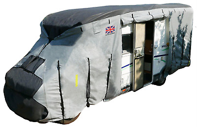 Royal Motorhome Cover From 6M To 6.5M 4 Ply Premium Waterproof Breathable • 127.86£