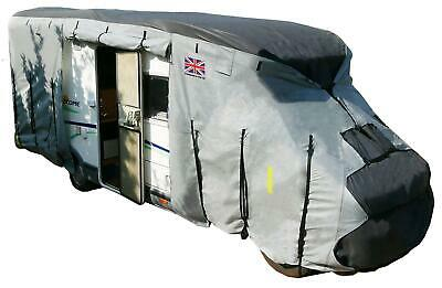 Royal Motorhome Cover From 7.5M To 8M 4 Ply Premium Waterproof Breathable • 158.46£