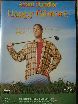 AU11.95 • Buy Happy Gilmore NEW / SEALED DVD Adam Sandler Christopher McDonald Julie Bowen R4.