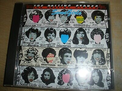 The Rolling Stones Some Girls CD Album Virgin CDV 2734 Made In Holland • 7£