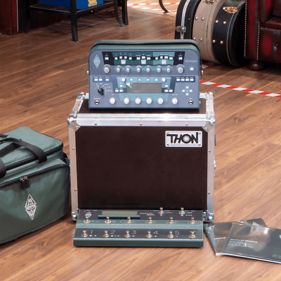 Profiling Amp Powerhead W/ Footswitch, Gigbag & Flight Case, Pre-Owned • 2,199£