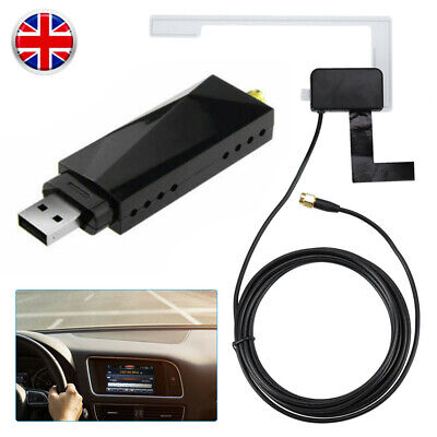 Car USB DAB + Digital Radio Receiver Tuner Aerial Antenna For Android Head Unit • 24.86£