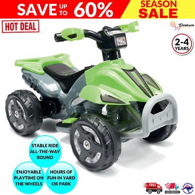 AU105.85 • Buy Indoor/Outdoor Rechargeable 6V Electric Quad Ride On/Motorbike/Bike//Toddler H2