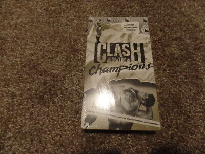 $ CDN374.93 • Buy Wcw Nwa CLASH OF THE CHAMPIONS Vhs BRAND NEW FACTORY SEALED Wrestling