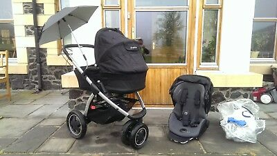 £150 • Buy Maxi Cosi Mura 3 Baby Carry Cot And Travel System