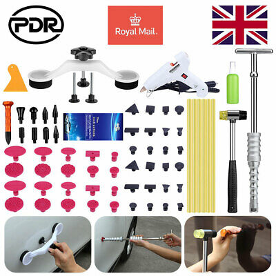 56× UK PDR Tools Dent Puller Lifter Auto Paintless Hail Removal Glue Gun Hammer • 39.98£