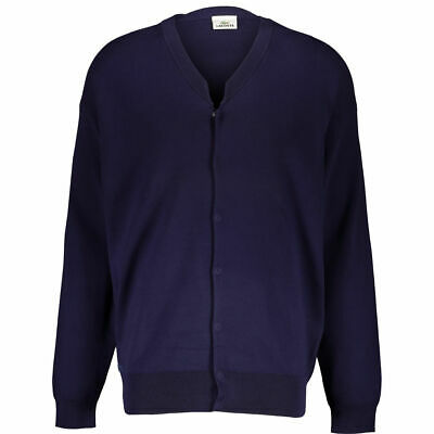 BMWT Mens LACOSTE Cardigan Sweaster Jumper Size 4 Uk/usa M RRP €225 • 54.99£