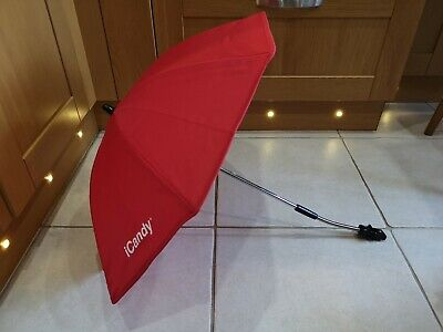ICandy Peach Parasol Sun Canopy In Red • 14.99£