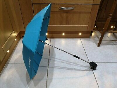 ICandy Peach Parasol Sun Canopy In Blue With Frame Clip • 14.99£