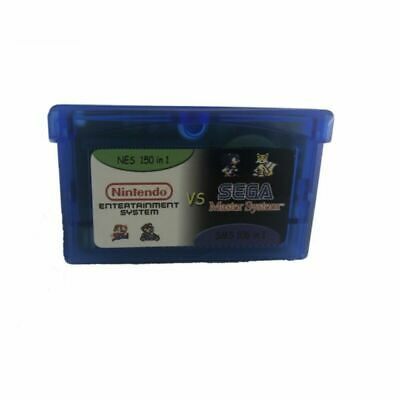 £9.99 • Buy Gameboy Advance Multicart Collection GBA Cartridges 150 NES + 106 SMS Games In 1