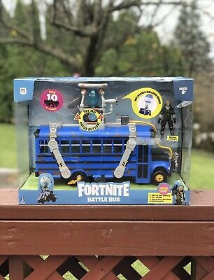 $ CDN42.31 • Buy Fortnite Battle Bus Deluxe Vehicle Pack NEW 2020 Toy W/ Figure 🚎 FREE SHIP