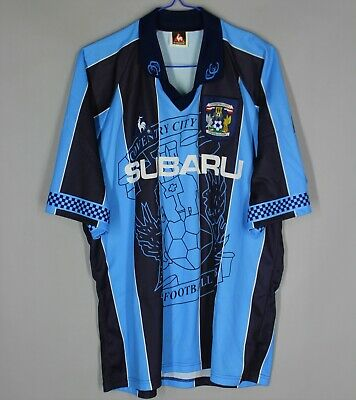 £99.99 • Buy Coventry City Fc 1997 1998 Home Football Shirt Jersey Vintage Subaru Size M