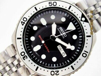 $ CDN237.91 • Buy Project Fix Seiko 7s26 0020 Skx007 Japan Mens Day Date Ss #6n0001 Watch Nr