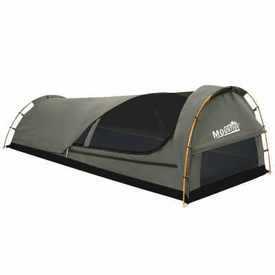 AU158.04 • Buy Dome Swag Camping Canvas Tent In Grey
