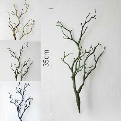 £5.03 • Buy  Artificial Simulation Dried Tree Branches Plastic Twigs For Home Party Decor