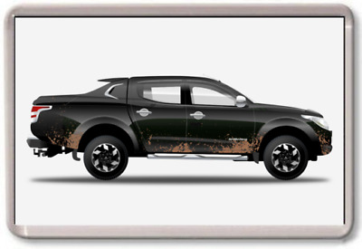 AU2.85 • Buy FRIDGE MAGNET - MITSUBISHI BARBARIAN GRAPHIC CAR ART - Large