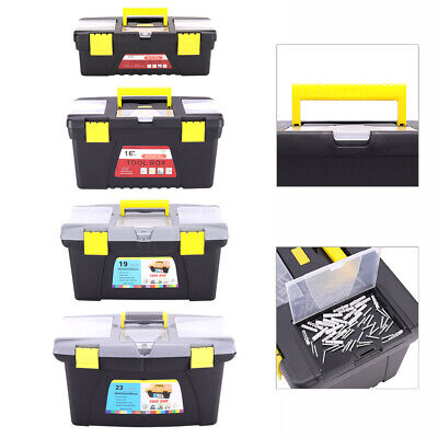 £14.34 • Buy Tool Box Storage Boxes 12  16  19'' 23Inch Storage Tidy Case DIY Chest Tools Bag