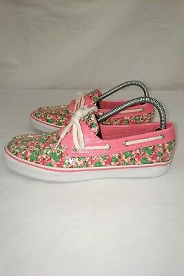 $29 • Buy Sperry Top-Sider Floral Sequin Themed Boat Shoes Women's Size 9 M, Sperry, Women