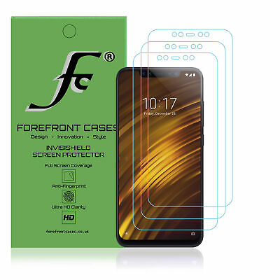 $ CDN7 • Buy Xiaomi Pocophone F1 Screen Protector FC® [3 PACK] Hydrogel, HD Clear, Ultra Thin