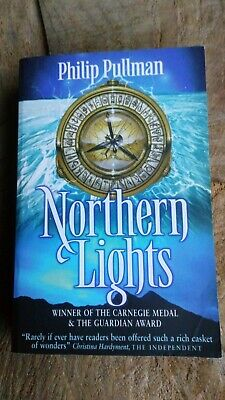Philip Pullman Signed Northern Lights His Dark Materials Book 1 Inscribed • 9.99£