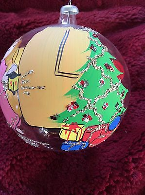 $ CDN25.46 • Buy Exceptional Glass VINTAGE HandPainted GIRL Presents Christmas Tree ORNAMENT