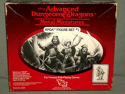AU414.40 • Buy TSR - ADVANCED DUNGEONS & DRAGONS RPGA FIGURE SET #1 (ULTRA RARE And COMPLETE!!)