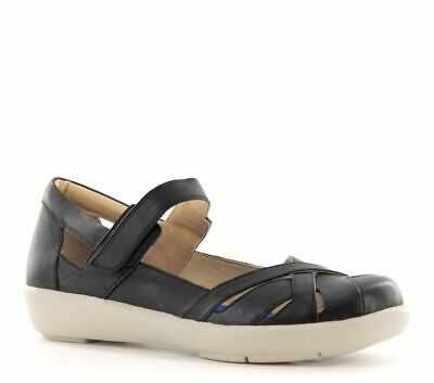 AU129.95 • Buy Ziera Seashore Black Casual Style Flat Work Shoe Arch Support Sz Eu 40.5m New