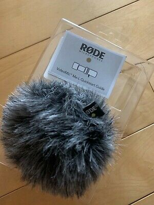 Rode Ws9 Wind Protector Windshield For Video Mic Me-l Used For Apple Devices • 20£