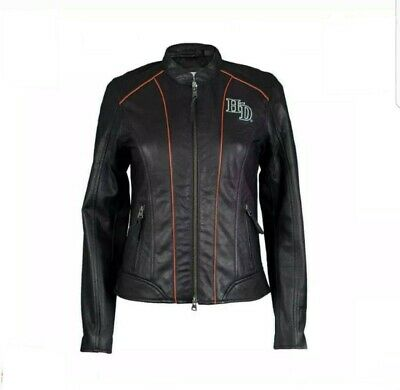 $ CDN233.44 • Buy Brand New Harley Davidson Ladies Jacket Real Leather New Fashion US STOCK