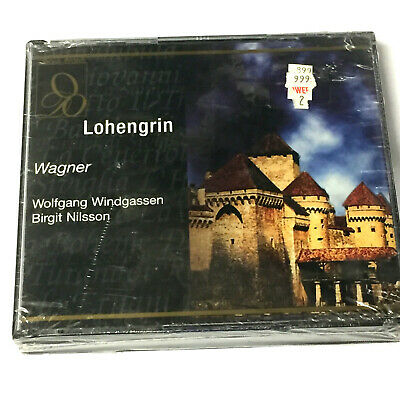 £13.49 • Buy Richard Wagner – Lohengrin (4 X CD 1998) Recorded Live Beyreuth 1954