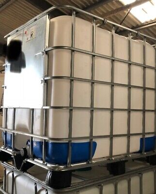 IBC UN APPROVED Tank Container. 1000 Litre Used (Not For Drinking Water) • 40£