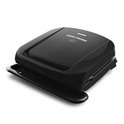 4-Serving Removable Plate Grill And Panini Press, Black, GRP1060B  • 30.10£