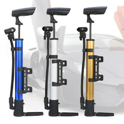 Bicycle Pump Cycling With Bracket Portable High Pressure Mini Aluminium Alloy • 5.54£