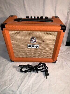 $ CDN114.82 • Buy 120v 230v ORANGE CRUSH 20  GUITAR AMP Amplifier 20w Powers On HUMS Parts Repair