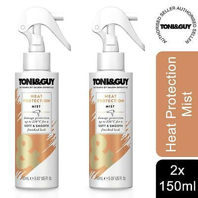 £8.99 • Buy 2 Pack Toni & Guy  230 Degree Celsius Heat Protection Mist, 150 Ml