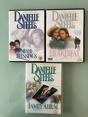 Danielle Steel 3 Great Films DVD Collection • 5.50£