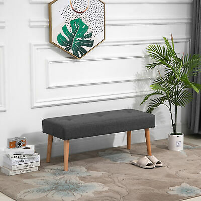 £40.99 • Buy Multipurpose Bed End Bench Ottoman Footstool Tufted Upholstered Entryway Bedroom