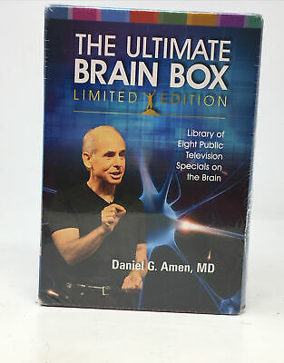 THE ULTIMATE BRAIN BOX -  Dr. Daniel Amen 8 Disc DVD Set BRAND NEW  • 9.40£